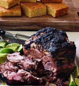 Slow roasted pork