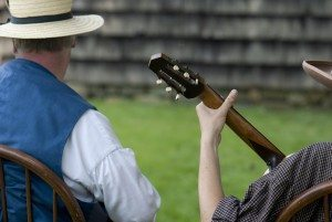 Costumed actors bring Old Bethpage Village Restoration to life. (Photo by Rob Reinhardt)