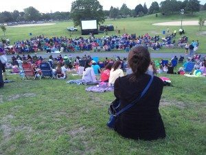 Free outdoor movies are being screened throughout Long Island all summer long.