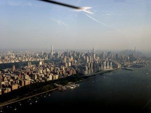 a view of the Manhattan skyline (Photos by Cynthia Paulis)