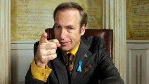 Bob Odenkirk's Saul Goodman in Better Call Saul