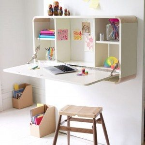 An organized homework space is a great idea for kids.