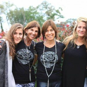 One Love Long Island (OLLI) founders (from left): Laura Ahrens, Nadine Wolff, Lisa Bondy and Cara Stone.