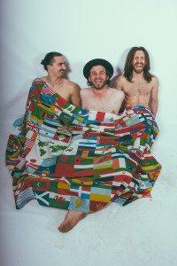 Peru (from left): Jeremy Scalchunes, Michael Desmond, Thomas Costa