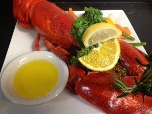 A lobster from Popei's