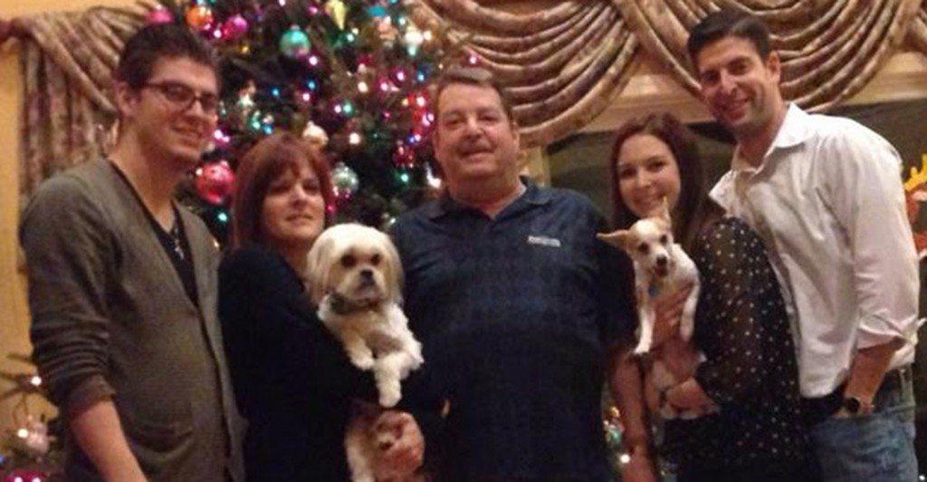 The Brower Family in December 2013. From left: John, Jr., Jody, John, Sr., Kristen and Robert.