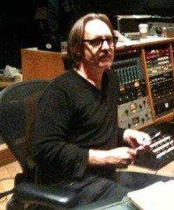 Butch Vig in Madison's Smart Studios recording studio in 2010
