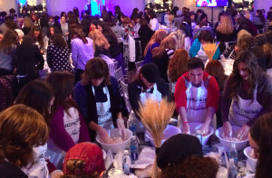 Help set a record for the largest Great LI Challah Bake ever. Mix, knead and braid homemade bread with hundreds of women on Wednesday night, an ancient Jewish tradition.