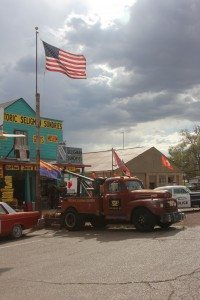 Seligman, AZ, birthplace of Route 66 and inspiration for Radiator Springs, the fictional town in Cars