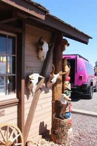 Pink Jeep Tours stops at this trading post on the way to the Grand Canyon.