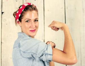 World War II icon Rosie the Riveter (Photo courtesy of www.sheknows.com)