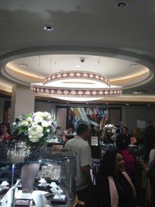 A shot of the new LeVian Store at Roosevelt Field Mall