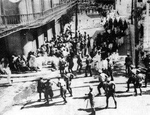The Ponce Massacre begins