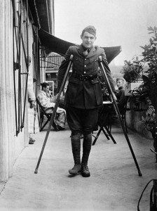 Ernest Hemingway, Milan, 1918. (Photo courtesy of John F. Kennedy Presidential Library and Museum.)