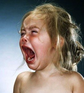 Tantrums can be fatigue, frustration or a need for attention.