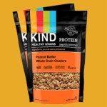 SNACKS KIND Peanut Butter Whole Grain Clusters