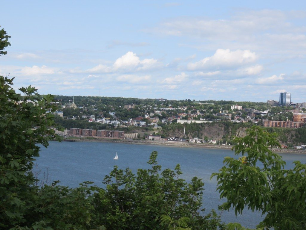 Picturesque views of Quebec City can be seen along the Saint Lawrence River. (Photos by Sheri ArbitalJacoby)