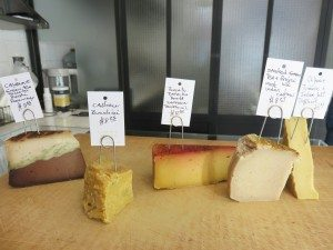 The aged and semi-hard nut cheeses are available in complex and interesting flavors, including Cayenne, Green Tea, Tomato Relish, Rosemary; Cashew Zucchini; Tomato, Paprika, Beets, Saffron, Truffle Oil; Smoked Green Tea and Porcini Oil with West Indies Cashew; and Cashew, Tumeric and Indian Salt with Truffle Oil.