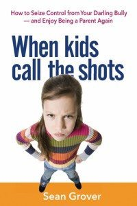 """This photo provided by AMACOM shows the cover of the book, """"When Kids Call the Shots,"""" by author, Sean Grover. Parent and family therapist Grover writes in his new book, that a generation or two ago, it would have been unthinkable for children to bully their parents, yet today everyone knows a parent who is bullied. (AMACOM via AP)"""