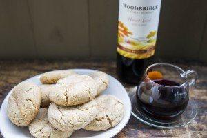 Mulled wine cookies