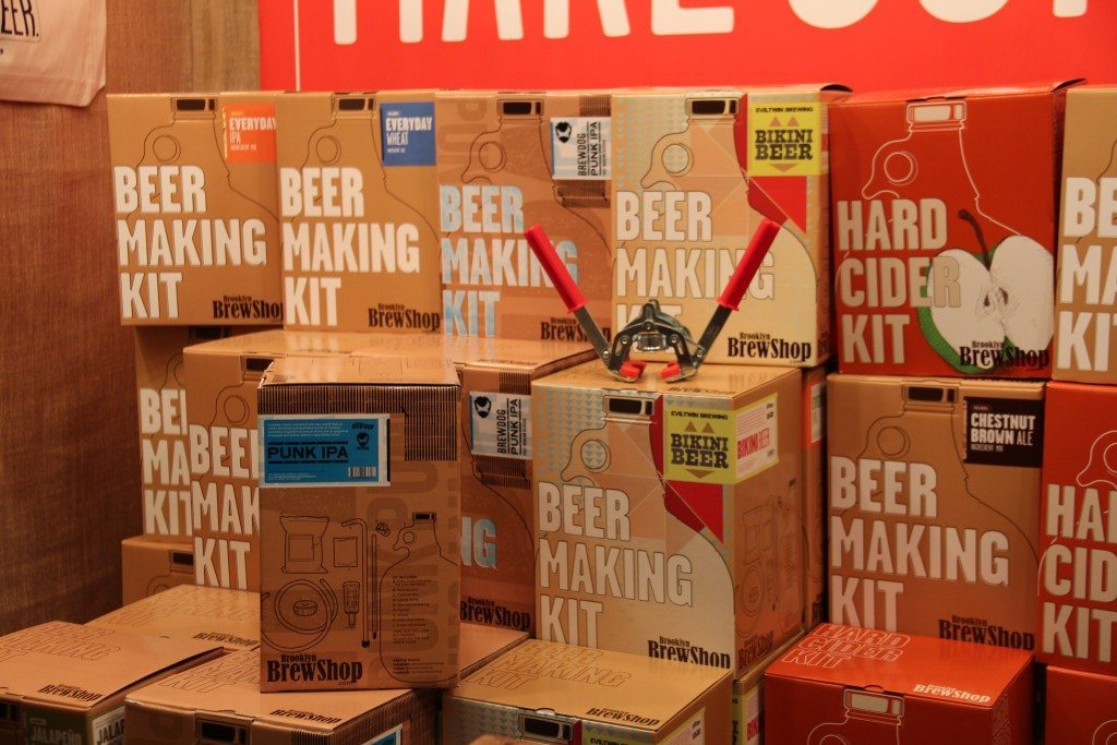 Check out Brooklyn Brew Shop at the market. (Photo by Christy Hinko)