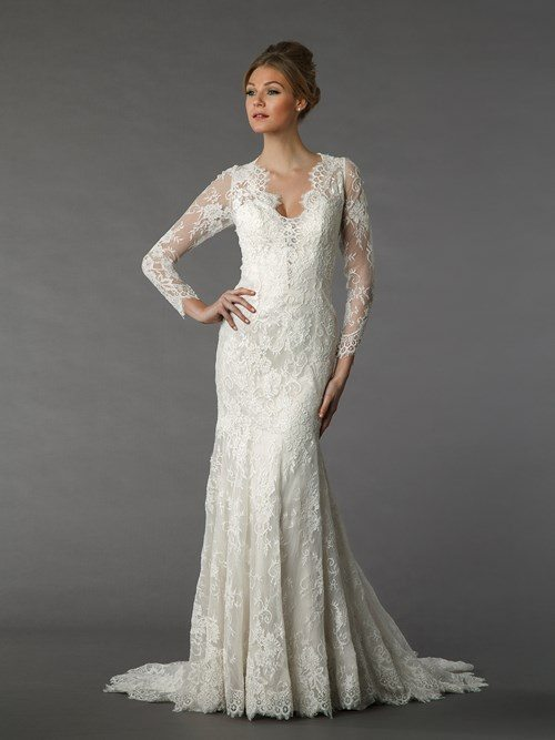 Say yes to the dress long island weekly for Kleinfeld wedding dresses with sleeves