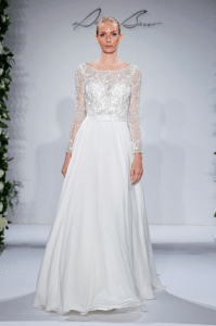 A dress fit for a snow queen (Dennis Basso for Kleinfeld)