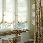 Removing heavy drapery can make a room appear larger.
