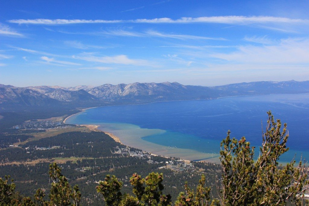 See panoramic views of Lake Tahoe from Heavenly's observation deck.