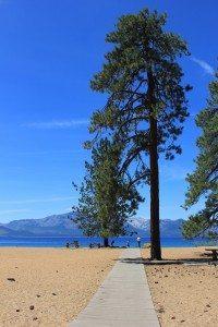 Nevada Beach is one of Lake Tahoe's hidden gems.