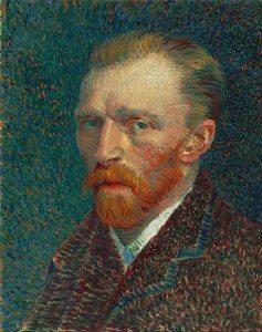 "Vincent Van Gogh's ""Self-Portrait,"" (Spring 1887), Oil on pasteboard, (Courtesy Art Institute of Chicago)"
