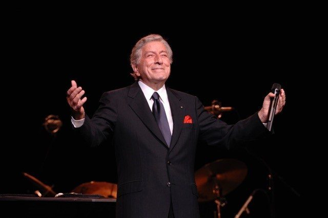 Tony Bennett in performance at NYCB Theatre at Westbury (Photo by Larry Busacca)