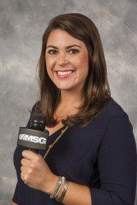 September 17, 2014: Shannon Hogan's headshot is taken for the MSG Network.