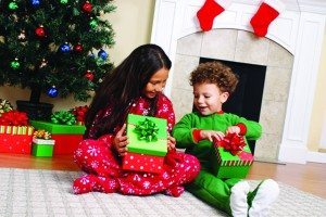Parents should be sure to discuss with their children how they should react when refusing presents during the holiday season.