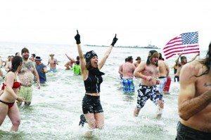 New Year's Day Coney Island Polar Bear Plunge