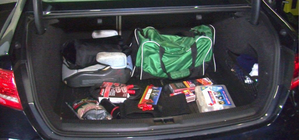 Car safety supplies (Photo courtesy of State Farm)