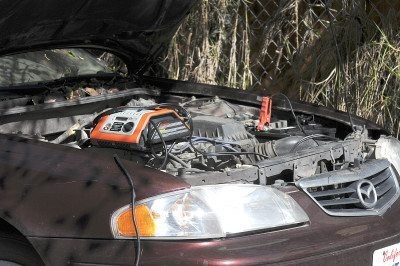 Have a set of jumper cables handy in case your car battery needs a boost. (Photo by D. Coetzee)