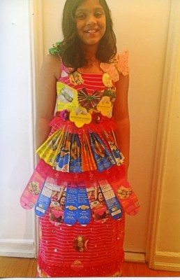 cookie box fashion show