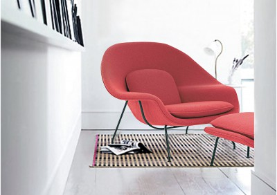 Womb reading chair