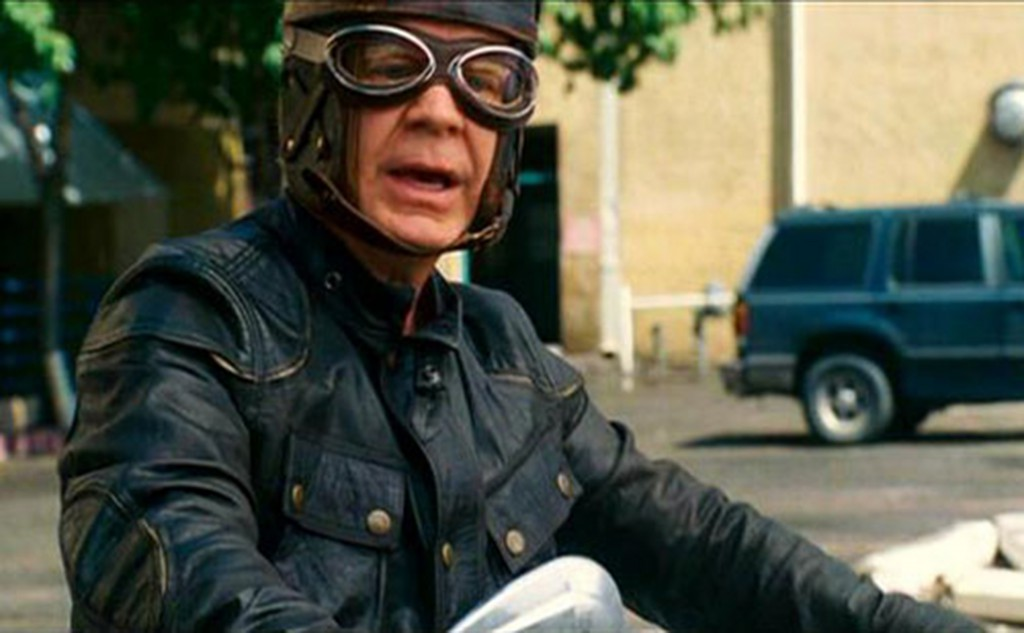 """Wild Hogs (2007) Macy takes on the character of a biker wannabe with John Travolta, Tim Allen and Martin Lawrence. """"Tim Allen is trying to get Wild Hogs back on the road, I can't wait for that,"""" said Macy."""