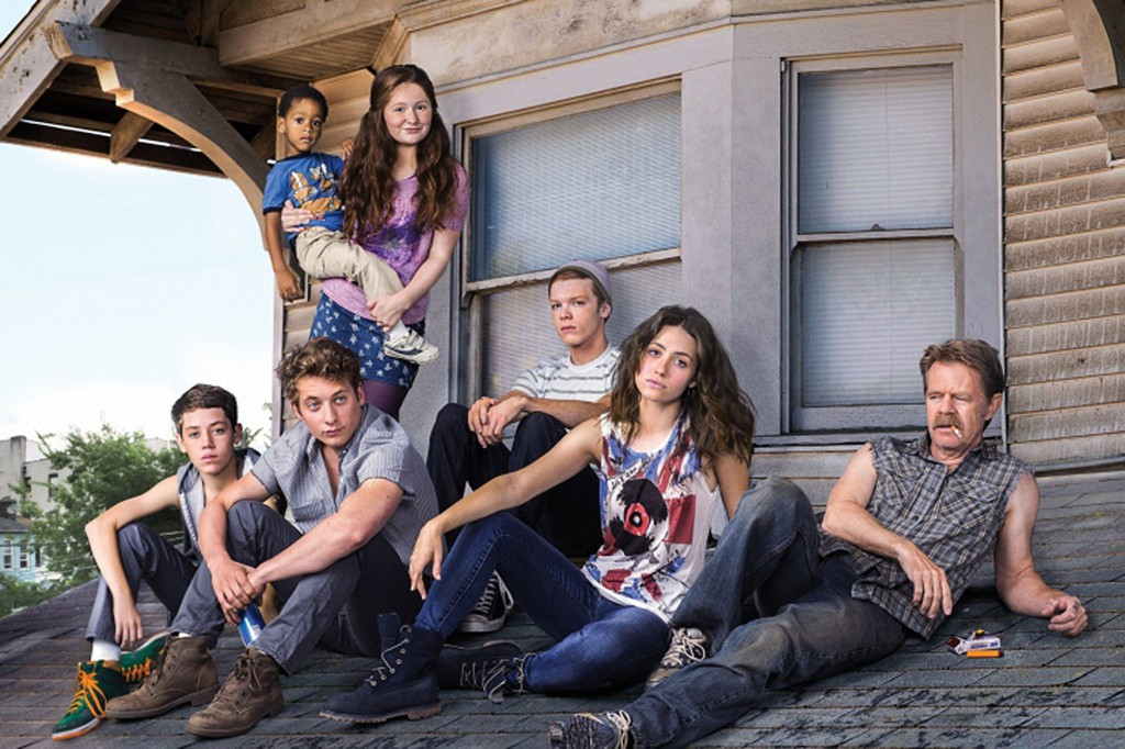 """Shameless (2011—) """"Frank is funny and pretty smart and he knows people. He's not going to succumb to social norms because he's supposed to,"""" said Macy of Frank Gallagher, the fun-loving, drunk father of six children, who knows how to live life to the fullest on the South Side of Chicago."""