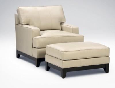 Nanette Lepore Arcata Leather reading chair