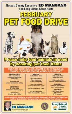 Pet Food Drive 11x17