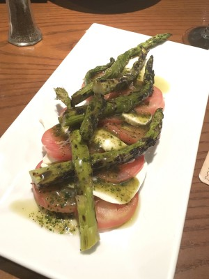 Press 195's asparagus appetizer is a great way to get one's greens.