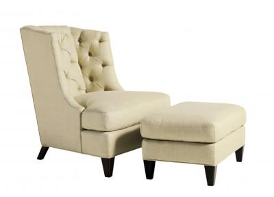 Rinfret Baker Moderne reading chair