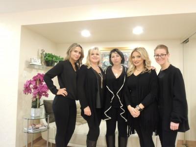 Xanthoula, Alicja Rsepoluch, Natasha Kaplan, Maria Kaskaris and Tina Cothlis
