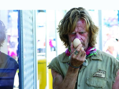 Frank Gallagher is in a class of his own. (Photos courtesy of Shameless)