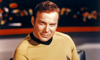 William Shatner in his best-known role