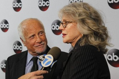 Richard Dreyfuss and Blythe Danner are pictured at the Jan. 27 world premiere of Madoff in New York City. (Photo courtesy of ABC)