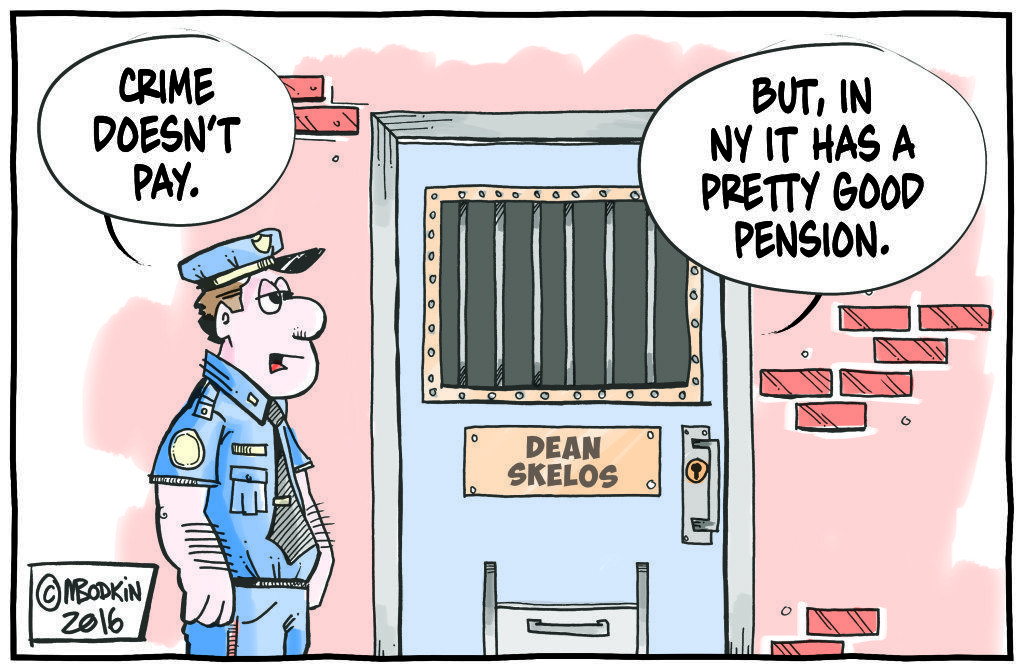 Pension Plan cartoon